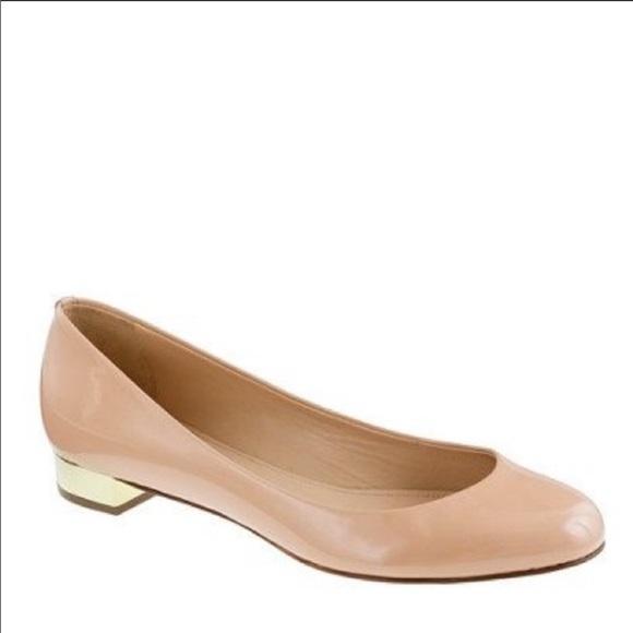 J. Crew Shoes - Brand new J. Crew Janet Patent Flats